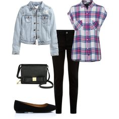 Untitled #24 by juliekovacova on Polyvore featuring H&M and Merona