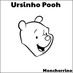 Moncherrino: Desenho colorir: Ursinho Pooh