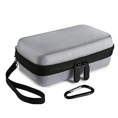 Introducing Faylapa Hard EVA Nylon Shockproof Travel Carrying Case Bag for HP Sprocket Portable Photo Printer Silver Gray. Great product and follow us for more updates!