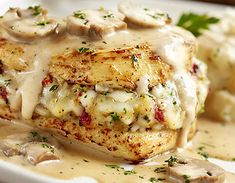 Stuffed Chicken Marsala | Best foods and recipes in the world