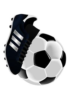 fotball sko og ball Soccer Theme, Soccer Art, Bat Coloring Pages, Football Birthday Cake, Football Tattoo, Birthday Card Drawing, Football Images, Football Field, Digital Stamps