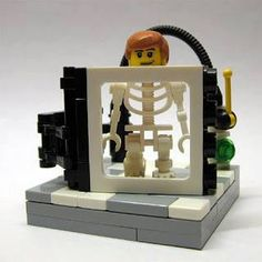 X-ray Legos! Yes we have a Lego!