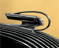 1936 Pontiac Master Six 2-door Touring Sedan - Chief Hood Ornament
