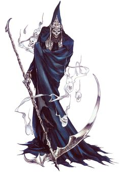 Death - Characters & Art - Castlevania: Lament of Innocence