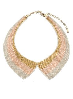 Pastel bead collar - Jewelry - Accessories - Dorothy Perkins United States