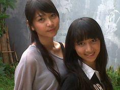 JKT48  Jessica Veranda (Ve) (ジェシカ・ヴェランダ) (ヴェイ)    Ayana Shahab (Acchan)