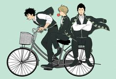 Image about gintama in Anime by Zence on We Heart It All Anime, Manga Anime, Anime Art, Fanart, Samurai, Gintama, Gekkan Shoujo, Okikagu, Anime Shows