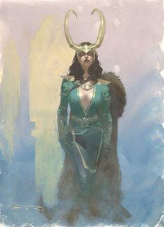 Lady Loki by Esad Ribic