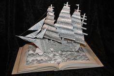 Des sculptures de livres déchirés par Jodi Harvey Brown - 2Tout2Rien