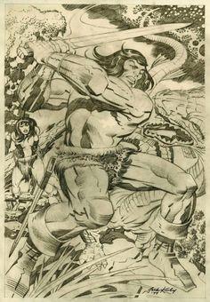 Cap'n's Comics: Conan by Neal Adams And Jack Kirby