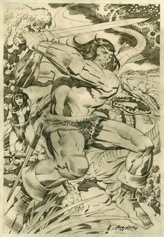 Cap'n's Comics: Conan by Neal Adams And Jack Kirby
