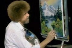 What Happened to Bob Ross' Paintings? | Mental Floss