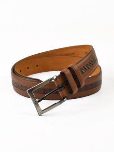Lejon Genuine Italian Leather Bayside Belts - Big Man Sizes