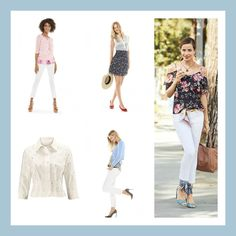 Spring Trend '17 - Show & Tell, peek-a-boo styling such as, cold shoulder tops, sweaters and jackets with cut-out detail, sheer tops with pops of color or prints underneath.