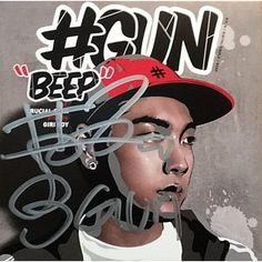 #GUN / [ プロモ用CD ] BEEP [#GUN]※サイン入り[CD] :韓国音楽専門ソウルライフレコード