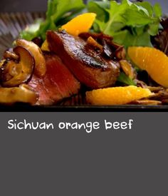 Sichuan orange beef        This spicy beef recipe is low in calories, but full of flavour. Serve with rice if you're feeling hungry.