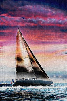 Marseille Photograph - Sailing Boat Nautical 1 by Jean Francois Gil