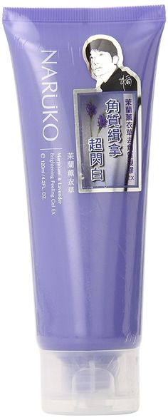 Naruko Brightening Peeling Gel EX, Majoram and Lavender, 4.06 Fluid Ounce * Details can be found by clicking on the image.