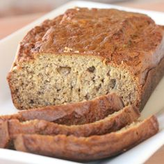 banana bread square