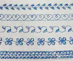 Tips for using decorative stitches