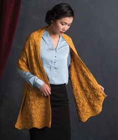 Create this radiant knitted shawl pattern using raised stitches and a unique lace-stitch pattern. Shawl Patterns, Stitch Patterns, Knitting Patterns, Prayer Shawl, Shawl Cardigan, Learn How To Knit, Knitted Shawls, Stitches, Waves