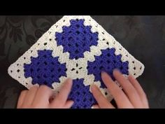How to sew your Victorian Granny Squares together and achieve perfect corner joins. How to sew your Victorian Granny Squares together is my interpretation after all my research on the history of crochet and lace making. This video is to support my Joining Crochet Squares, Granny Square Crochet Pattern, Crochet Borders, Crochet Granny, Crochet Motif, Diy Crochet, Crochet Stitches, Crochet Patterns, Crochet Pillow