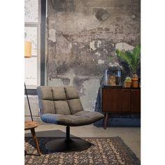 Dutchbone Juju sideboard and Bar lounge chair Bar Lounge, Black Dining Room Chairs, Living Room Chairs, White Chairs, Chair Design, Furniture Design, Furniture Buyers, Interior Exterior, Interior Design