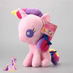 Cute MLP My Little Pony Princess Cadance Plush Toy Soft Stuffed Animal Doll 10