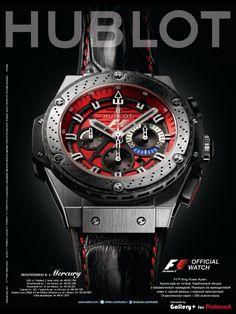 Watches. Hublot ad. gq.com.ru