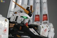 GUNDAM GUY: G-System 1/48 Nu Gundam - Painted Build