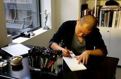 Jason Wu chats with Vanessa Friedman about his evolution from a doll clothing designer working out of his living room to an established fashion designer with a sizable and sophisticated showroom.