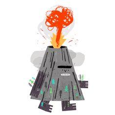 Rob Hodgson, Volcano