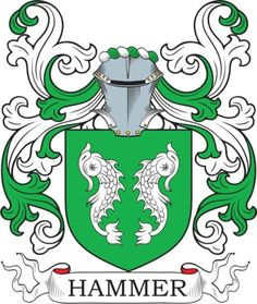 Hammer Family Crest and Coat of Arms