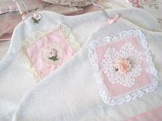 Luxury Covered Hangers - So Shabby Chic!