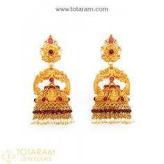 22k Gold Earrings