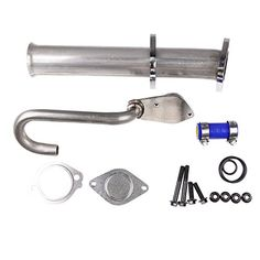 AURELIO TECH Diesel EGR Valve Power Stroke Kit For 2003 - 2010 Ford 6.0 E-350 E-450 F-250 Super Duty 904-218:   This new Exhaust Gas Recirculation (EGR) Valve will ensure that your car continues to perform as expected. It will make sure that the car burns fuel more efficiently by recirculating a portion of your exhaust and running it through the combustion. This will ensure a cooler engine with less harmful emissions. Not replacing a failed EGR will result in engine damage. Please chec...