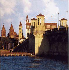 Puente de los Leones de San Agustin en Florida