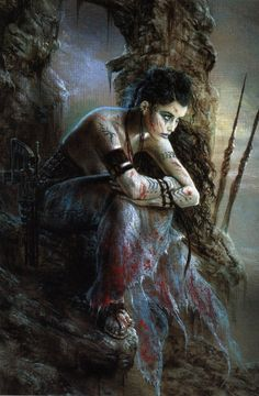 luis royo ~ his style is so distinctive, I knew this was his before I finished scrolling down.