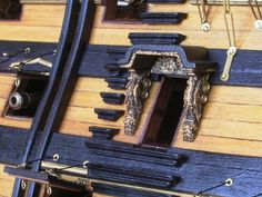 帆船模型完成品 HMS ビクトリー(HMS Victory)_2