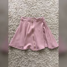 New blush skirt New with tag ! NOT ZARA BRAND ! Offers accepted Zara Skirts Midi