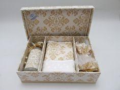 Divina Caixa: Caixa Kit Lavabo - Lembrança para madrinhas de cas...