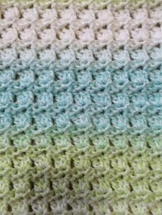 Not My Nana's Crochet!: Crochet Baby Car Seat Blanket in Primrose Stitch - Free Pattern