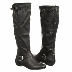 Chinese Laundry New Capture Boots (Black Leather) - Women's Boots - 6.5 M