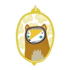 http://lespapierscolles.wordpress.com/2013/03/04/amy-blackwell/ #illustration fox