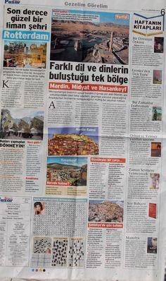 Deli Tozu 31 Ağustos 2014 tarihli Sözcü gazetesinin pazar ekinde, haftanın kitapları arasında...
