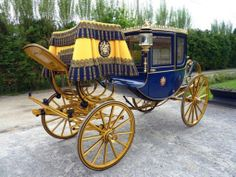Dress Chariot by Fr.Flack of Vienna restored by Patric Schroven of Belgium image courtesy of Patrick Schroven Audi Rs6, Ford Mustang, Volkswagen, Gothic, Old Wagons, Horse Carriage, Horse Drawn, Tilbury, Horses