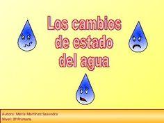 Los cambios de estado del agua