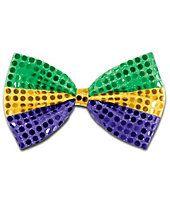 Mardi Gras - DIY Bow
