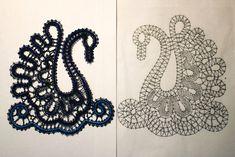 Hairpin Lace Crochet, Crochet Motif, Crochet Shawl, Bobbin Lace Patterns, Bead Loom Patterns, Lace Earrings, Crochet Earrings, Bruges Lace, Bobbin Lacemaking