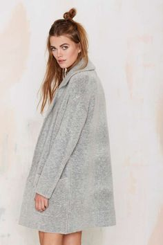 Madeline Knit Coatigan - Cardigan | Coats